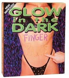 Glow in the Dark Finger Paints - NY Stop Shop