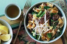 Pad see ew,  a favourite Thai street food ~ recipe Alison Adams ~ pic Ben Dearley/NewsLifeMedia