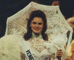 Traje Dama Antañona - Andreina Goetz en Miss Universe..