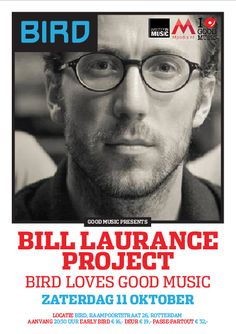 Bill Laurance Project in @Bird_Rdam Tickets: https://bird.stager.nl/web/tickets/8145