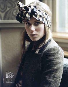 "I LOVE! ""Fifties Twist : Imogen Newton : Elle France August 2012 : Clare Shilland"