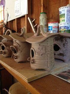 bird shacks | Flickr - Photo Sharing!