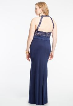 Lace Bodice Cleo Dress #camillelavie #CLVprom