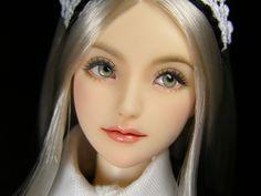 """1/6 custom Doll head (Obitsu 01) """"Osmanthus"""""""