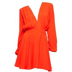Floaty, flirty dress for the spring Wedding Week, Party Dresses Online, Red Fashion, Motel, Jet, Jumpsuit, Peach, Orange, Spring