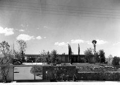 Casa Mejía 1957  Col. Pedregal de San Ángel. México D.F.  Arq. Antonio Attolini Lack