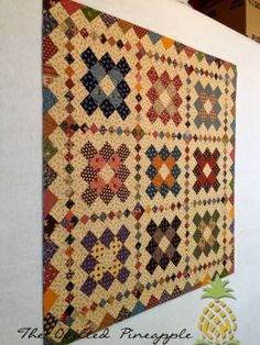 Clover Schnibbles Quilted!Uncommonly Corduroy - Blog Book TourHospitality Quilt