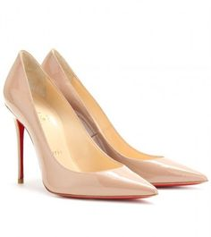 christian-louboutin-Decollete 554 100 Patent Leather Pumps - Lyst