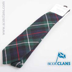 MacKenzie Modern Tartan Tie. Free worldwide shipping available