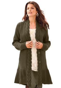 Something to keep those curves warm. Style from Curvation. #ShapeofBeauty
