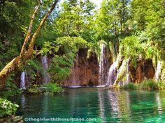 Il verde e il blu dei Laghi di Plitvice #TheGirlwiththeSuitcase #croazia