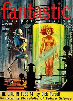 Pulp Sci-Fi & Fantasy Cover Art: Ed Valigursky (clickthrough for lots more)