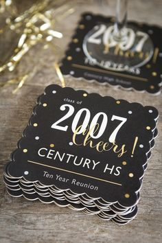 Fun + Easy High School Reunion Ideas You are in the right place about High School stereotypes Here we offer you the most beautiful pictures about the High School quotes you are looking for. Class Reunion Favors, School Reunion Decorations, Class Reunion Invitations, Reunion Centerpieces, High School Class Reunion, 10 Year Reunion, High School Parties, High School Graduation, Highschool Reunion Ideas
