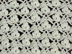 Crochet : Punto Calado Flor de 6 Petalos. Parte 1 de 2 - YouTube