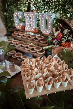 See how this vendor brought Havana Inspiration to The Big Fake Wedding Dallas with this churro and dessert bar! Dessert Bar Wedding, Wedding Desserts, Wedding Table, Our Wedding, Wedding Food Bars, Mexican Dessert Table, Dessert Buffet, Dessert Bars, Food Buffet