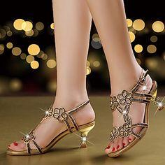 6831f52f2d5   44.99  Women s Crystal Sandals Microfiber Summer   Fall Comfort   Novelty    Club Shoes Sandals Walking Shoes Stiletto Heel Open Toe Rhinestone    Sparkling ...