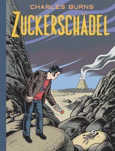 """""""Sugar Skull"""" by Charles Burns. Great graphic novel, I guess!"""