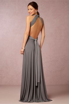 BHLDN Ginger Convertible Maxi Dress in  Bridesmaids View All Dresses at BHLDN