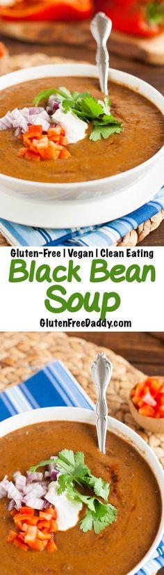 Gluten-Free Smoky Black Bean Soup Recipe Gluten-Free Soup Recipes