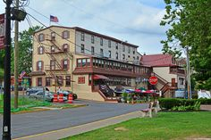 It's hard not to take a photo of the historic King George II Inn when passing by it.