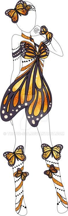 Dress Adoptable 05 - Closed by Tropic-Sea.deviantart.com on @DeviantArt