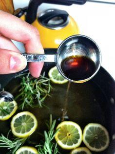 Home Deodorizer - rosemary, lemon, vanilla