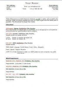Free Resume Templates Senior Management 3 Free Resume Templates