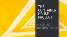 Collecting Staircase Parts - Small Scale Engineering Types Of Welding, Metal Furniture, Home Projects, Container, How To Plan, Scale, Engineering, Collection, House