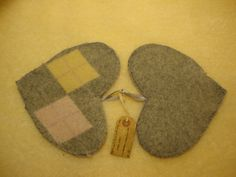 Recycled Felted Wool Potholders Provide Comfort and Protection from Heat and Fire by FeltlikeItStudio