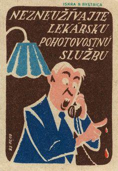 https://flic.kr/p/5meZey | czechoslovakian matchbox label