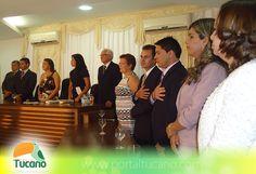 Posse dos vereadores e prefeito eleito em Tucano