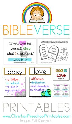 susan akins posted Visual Bible Verse Printables, Includes Bible Vocab, Character of God, Games and more to their -Preschool items- postboard via the Juxtapost bookmarklet. Preschool Bible Verses, Bible Verses For Kids, Bible Study For Kids, Bible Lessons For Kids, Printable Bible Verses, Bible Activities, Bible Crafts, Bible Verses For Children, Bible Games