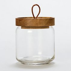 Teak Honey Jar / Shop Terrian $38.00