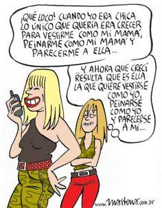 Humor gráfico - viñeta de Maitena