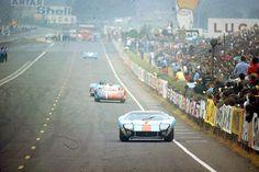 FORD GT40--LEMANS 66 | por Alfonso Irene
