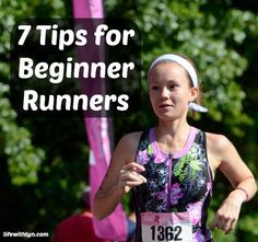 Tips for people just starting to run