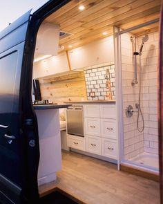 Van Conversion Kits, Electric Van, Van Home, Living On The Road, Van Living, Cargo Trailers, Bus Camper, Retirement Planning, House On Wheels