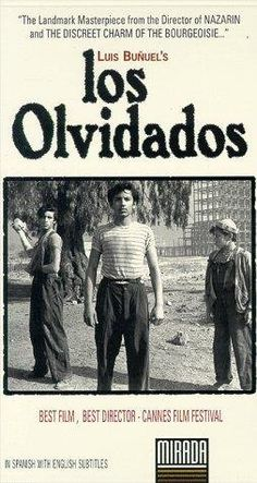 Bunuel Los olvidados (1950) Cinemex f176a4b3303