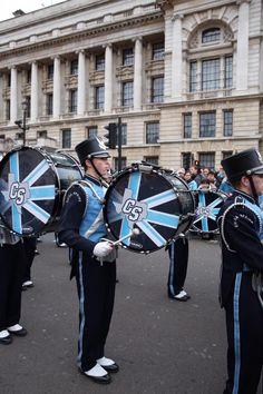 Custom Bass drum heads for London.