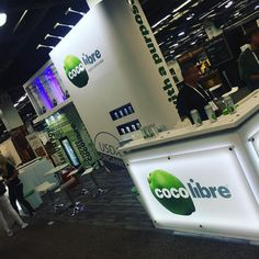 "141 Likes, 3 Comments - Andre Monsanto (@dre_monsanto) on Instagram: ""Crazy day at #expowest @cocolibre ! Come check us out! #organic #usda #coconut #coconutwater"""