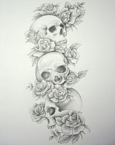 Google Image Result for http://favim.com/orig/201105/19/beauty-black-and-white-flowers-illustration-skull-tatto-Favim.com-49621.jpg