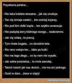 Polskie przysłowia Funny Quotes, Funny Memes, Jokes, Weird Pictures, Wtf Funny, Book Worms, Quotations, Haha, Comedy