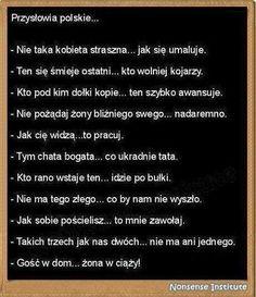 Polskie przysłowia :)