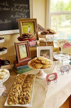 Smart Cookie Graduation party theme