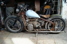 Photo Album: Parts, Pieces and Ideas Photo Album: Rat Rod Lifestyle Bike With Sidecar, Chopper Bike, Vintage Bikes, Rat Bikes, Old Skool, Bobber, Rats, Motorbikes, Cars Motorcycles