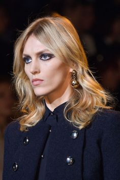 Elie Saab. See all of our favorite accessories from Paris fashion week. Slightly wavy .. Anja Rubik