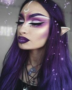Likes, 49 Comments – Vegan + Cruelty-Free Color ( on I… - Makeup Looks Yellow Elf Makeup, Cosplay Makeup, Makeup Art, Fairy Costume Makeup, Hair Makeup, Zelda Cosplay, Alien Make-up, Diana, Elfa