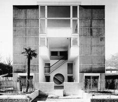 Casa Nera | 1986 | Bellinzona, Switzerland | Aurelio Galfetti