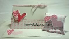 Homespun Hearts Valentine Treats by stampinjewelsd - Cards and Paper Crafts at Splitcoaststampers