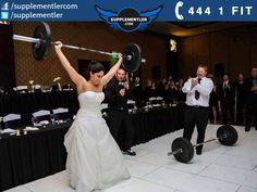 Düğün dediğin böyle yapılır :) #fitcouple #wedding